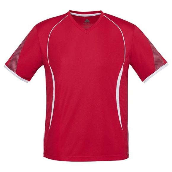 Kids Razor Tee T406KS Red